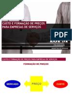 2. Custo e Formação de Preços para Empresa de Serviços
