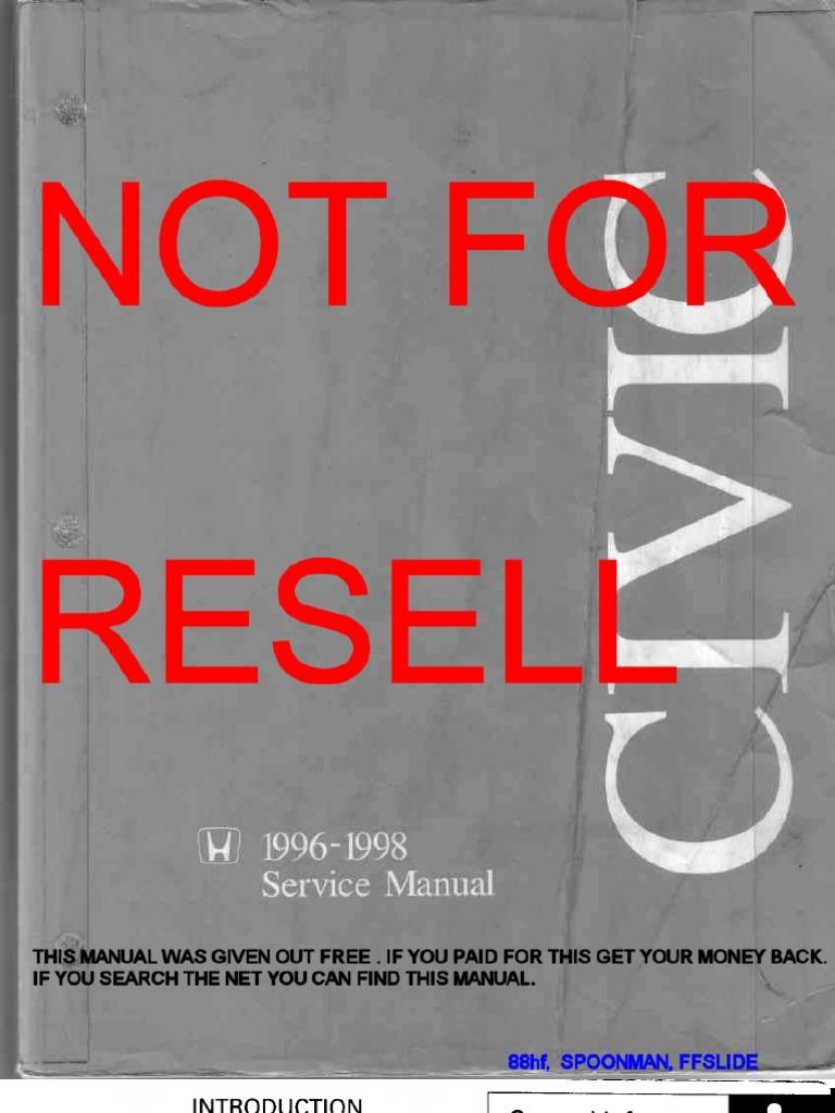 2010 honda civic service manual pdf