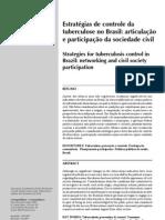Estratégias de controle da tb no brasil - articulação e participação da sociedade civil