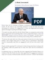 Robert Gates Offers A Blunt Assessment