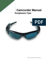 User Manual of 720P HD Sunglasses Video Recorder