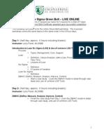 Greenbelt Curriculum