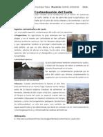 La Contaminación del Suelo en el Perú