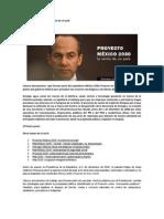 Proyecto Mexico 2030, La Venta de Un Pais