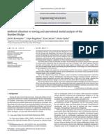 Ambient Vibration of Humber Bridge