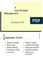 14 Fixed Income Portfolio Management