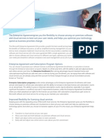 Enterprise Agreement Program Brief