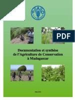 Documentation et synthèse de l'agriculture de conservation à Madagascar (FAO/2010)