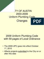 2010 Plumbing