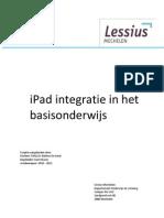 iPad Integratie in Het Basisonderwijs