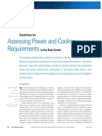 Assessing Power and Cooling Requirements