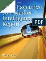 ExecuNet Executive Job Market Intelligence Report 2011