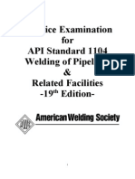 Practice Test Aws API 1104-2001