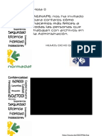Normadat Jornadas Custodia y Archivo AEINAPE