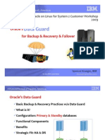 The Basics About Oracle's 10gR2 Data Guard for Backup & Recovery