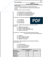 Copy of Kaizen Criteria
