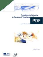 Creativitatea in scoli - sondaj profesori (EN)