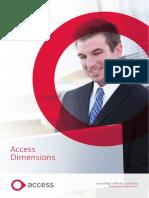 2011 Access Dimensions Brochure
