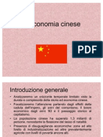 Presentazione Power Point Cina economia