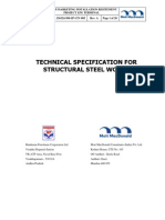 Annexure-5-Technical Specification for Structural Steel Works