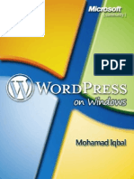 Iqbal - WordPress on Windows