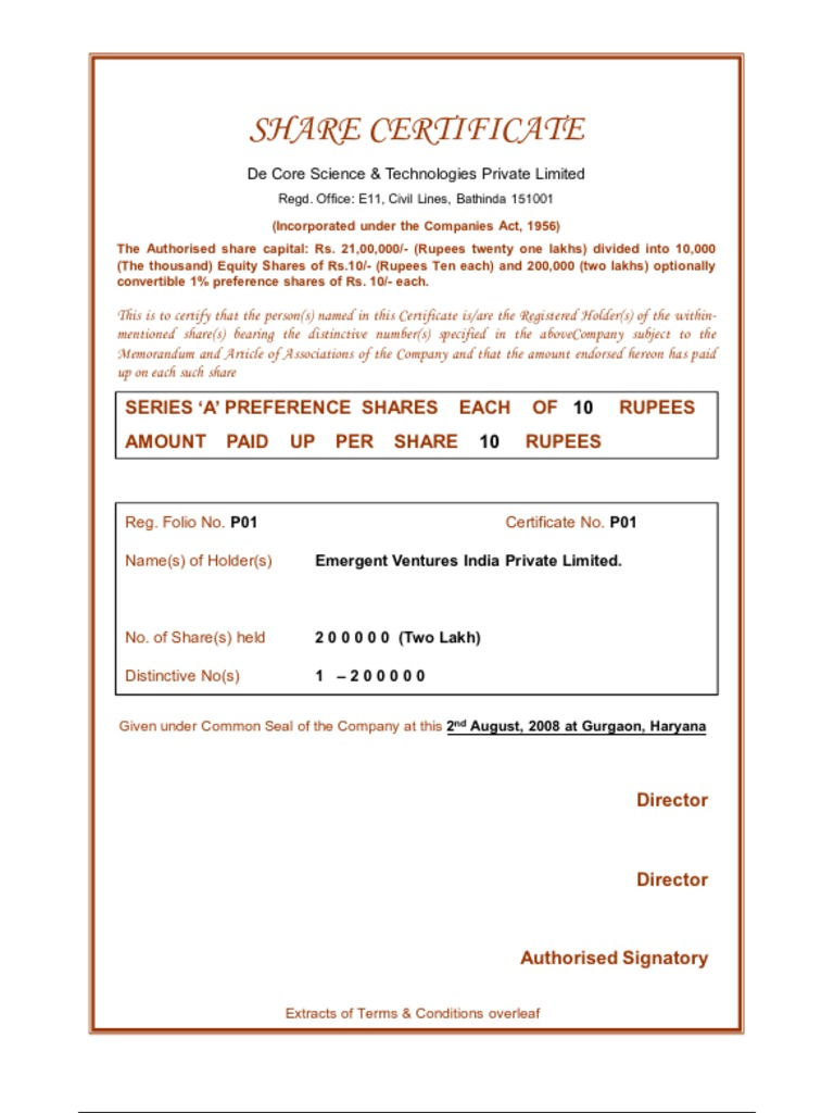 Company share certificates free termination letter template share certificate template limited company image collections 1516424912v1 share certificate template limited yadclub Images