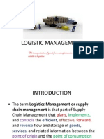 Logistic Management Sem IV Dabs- Unit i