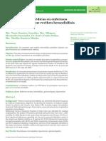 Complicaciones médicas en enfermos renales crónicos que reciben hemodiálisis periódicas