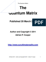 Adrian P. Cooper - The Quantum Matrix