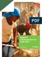 Haiti Progress Report 2010