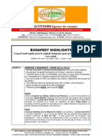 BUDAPEST HIGHLIGHTS - Package de voyage pour Groupes