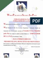 Diploma WPO a Detective BIBIANO