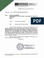Oficio de Felicitaciónes al Detective Bibiano