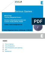 TimePerspective and Game Based Learning