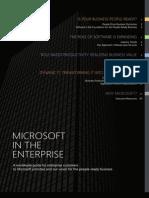 Microsoft Enterprise Customer Guide 2011