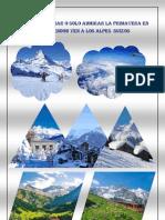Cartel Alpes Suizos