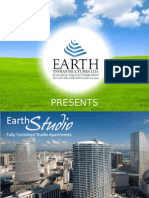 Earth Studios | 1 BHK lifestyle apartments from Earth Infrastructures Ltd