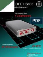 Brochure HS805