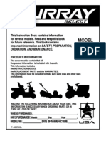 Murray Tractor Manual