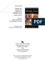 Understanding the Contemporary Middle East 3 Ed TOC and Intro
