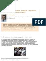 Oscar Picardo - Pedagogía informacional_ Enseñar a aprender...