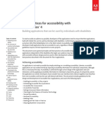 Flex 4 Accessibility Best Practices