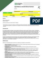 Catalogo de Valvula de Seguridad