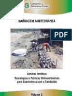 Cartilha Barragem subterranea