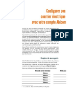Comment configurer son courrier électronique Abicom