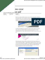 Tutorial Formularios en PDF