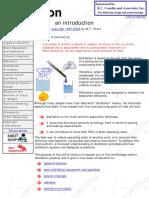 Introduction to Distillation