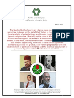 The Meir Ammit Inteligence and Terrorism Information Center - The Muslim Brotherhood - New Report