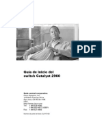 Configuracion Switch Catalyst 2960