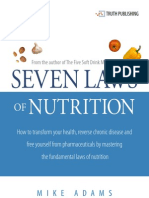 Seven Laws of Nutrition